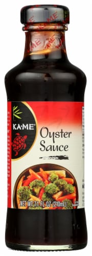 Ka-Me Oyster Sauce Perspective: front