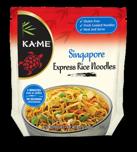 Ka-Me Singapore Express Rice Noodles Perspective: front