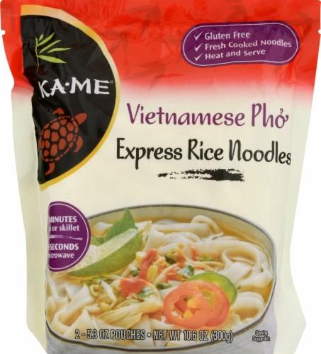 KA-ME Rice Noodles - Vietnamese Pho Perspective: front