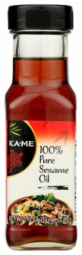KA-ME Pure Sesame Oil Perspective: front