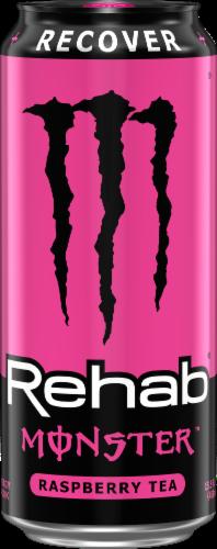 Monster Rehab Raspberry Tea Energy Drink Perspective: front