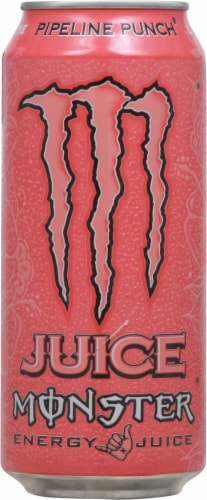 Monster Pipeline Punch Energy Juice Perspective: front