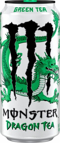 Monster Dragon Green Tea Perspective: front