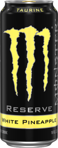 Monster® Reserve White Pineapple Energy Drink Perspective: front