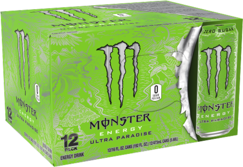 Monster Energy Ultra Paradise Drink Perspective: front
