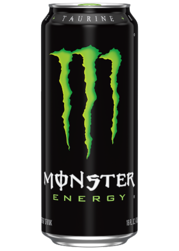 Monster Energy Drink Perspective: front