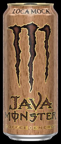 Java Monster Loca Moca Coffee + Energy Perspective: front