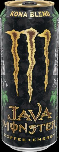 Java Monster Kona Blend Coffee + Energy Drink Perspective: front