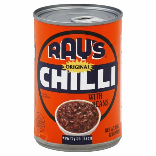 Ray's Original Chilli with Beans Perspective: front