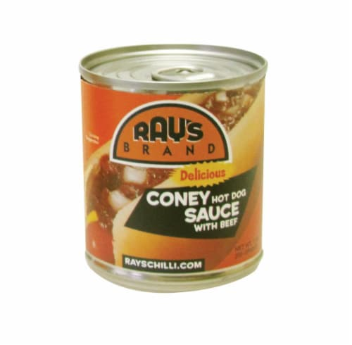 Ray's Coney Hot Dog Sauce Perspective: front
