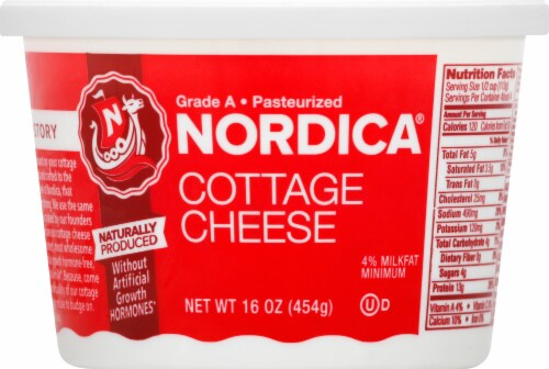 Nordica Cottage Cheese Perspective: front