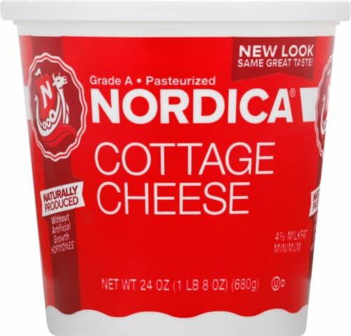 Nordica 4% Cottage Cheese Perspective: front