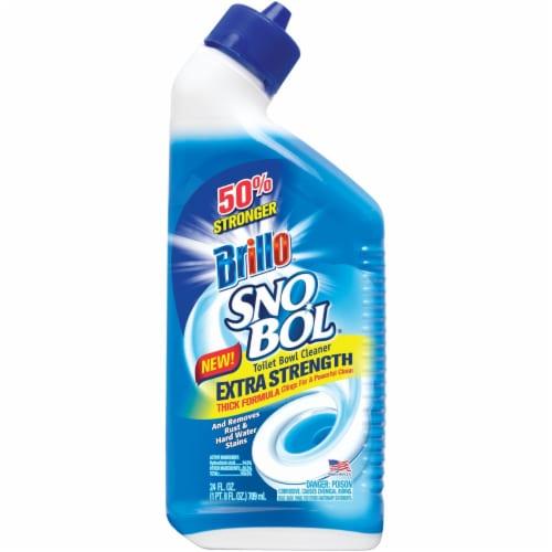 Brillo SnoBol 24 Oz. Extra Strength Liquid Toilet Bowl Cleaner 32424 Perspective: front