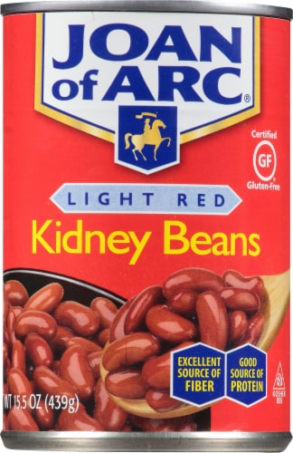 Joan of Arc Light Red Kidney Beans Perspective: front