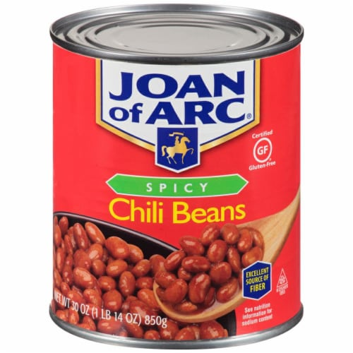 Joan of Arc Spicy Chili Beans Perspective: front