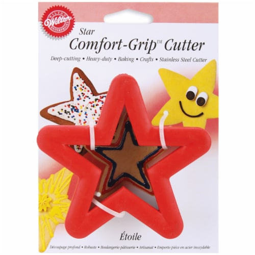 Comfort-Grip Cookie Cutter 4 -Star Perspective: front