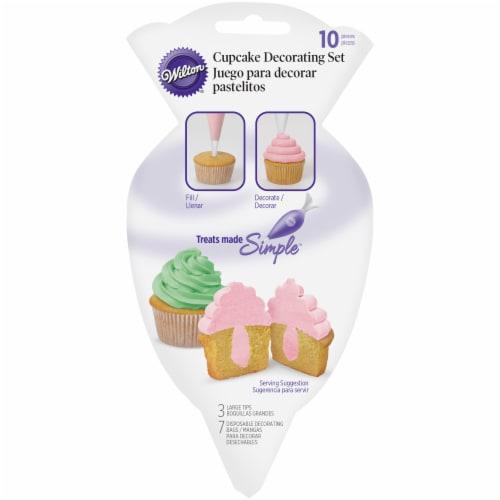 Wilton Cupcake Decorating Set Perspective: front