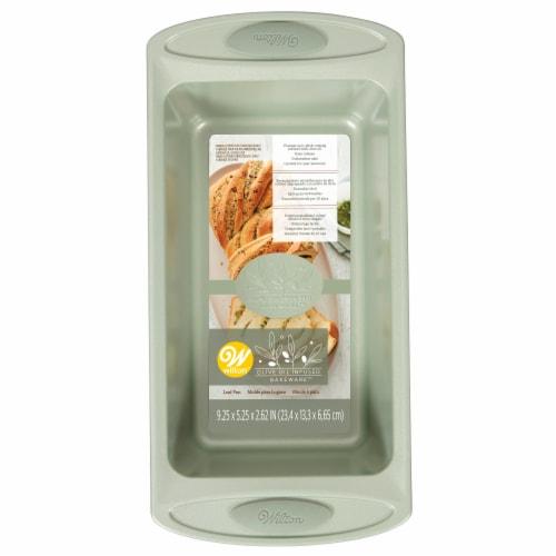Wilton Enterprises Olive Oil-Infused Baking Loaf Pan Perspective: front