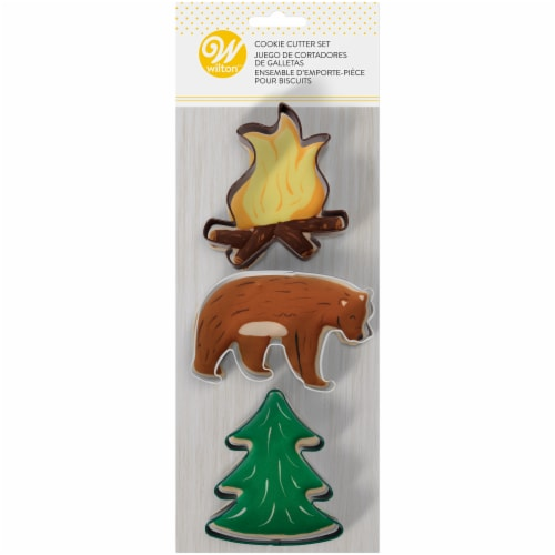 Wilton Adventurer Cookie Cutter Set Perspective: front