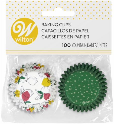 Mini Baking Cups-Tropical Party, 100/Pkg Perspective: front