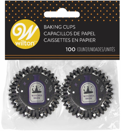 Mini Baking Cups-Potions And Spells 100/Pkg Perspective: front