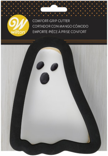 Comfort Grip Cookie Cutter-Ghost Perspective: front
