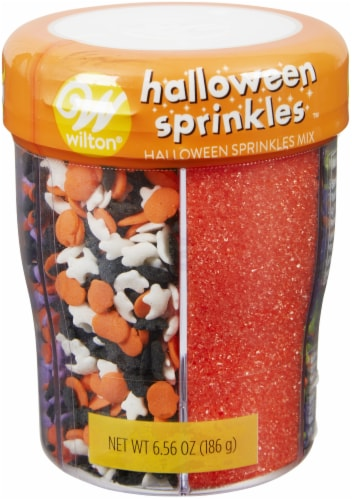 Sprinkle Mix-Halloween, 6 Cell Perspective: front