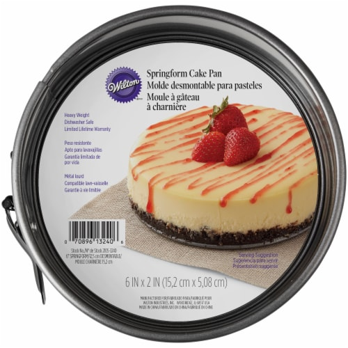 Wilton Springform Cake Pan - Gray Perspective: front
