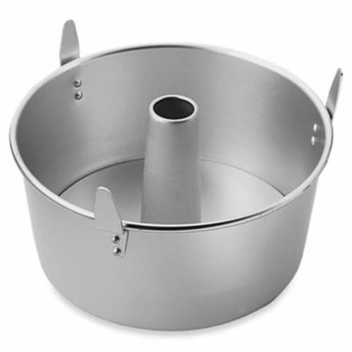 Wilton W2525 Angel Food Cake Pan - Aluminum Perspective: front