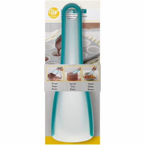 Wilton Squeeze and Pour Spatula Perspective: front