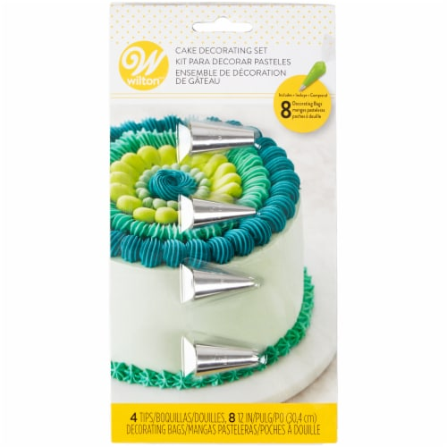 Wilton Cake Decorating Set Perspective: front
