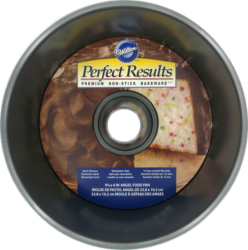 Wilton Perfect Results Angel Food Pan - Silver Perspective: front