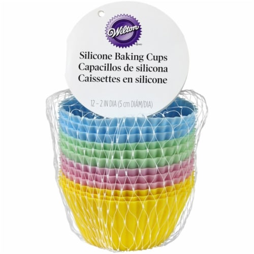 Wilton 2 in. Baking Cups Assorted - pack of 6 Perspective: front