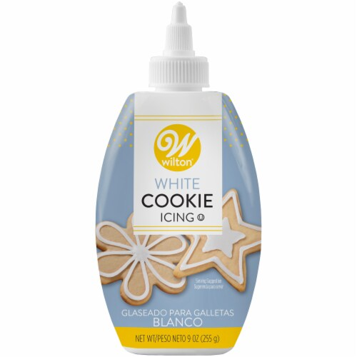 Wilton Cookie Icing - White Perspective: front