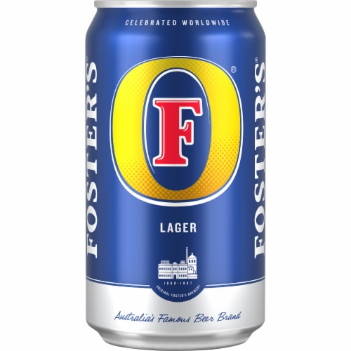 Foster's Premium Lager Beer Perspective: front