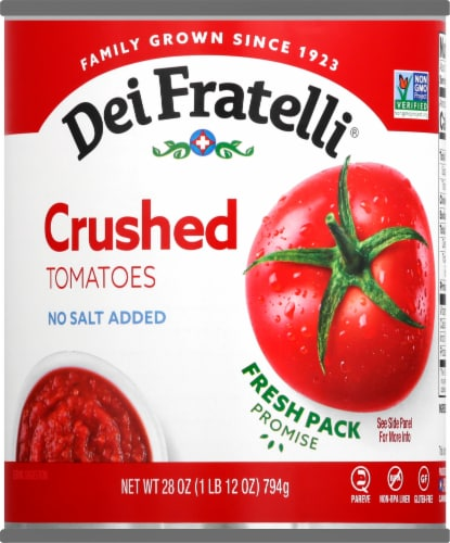 Dei Fratelli Crushed Tomatoes Perspective: front