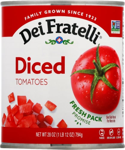 Dei Fratelli Diced Tomatoes Perspective: front