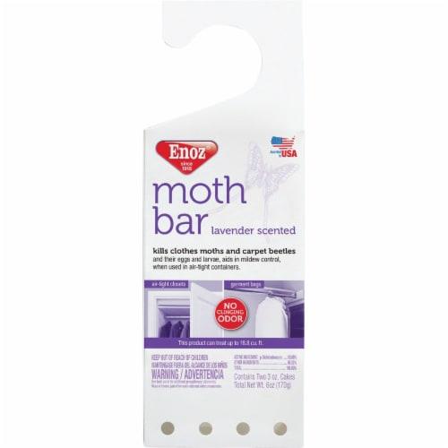 Enoz Lavender Scented Hanging Moth Bar Perspective: front