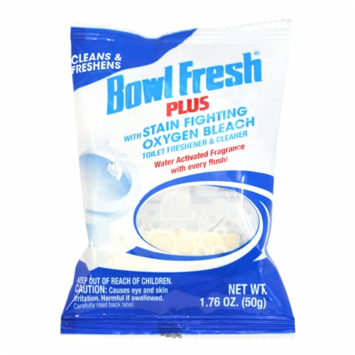 Bowl Fresh Plus Oxygen Bleach Toilet Cleaner Perspective: front