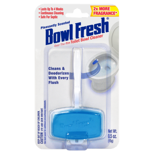 Bowl Fresh Pleasantly Scented Over the Rim Toilet Bowl Cleaner and Freshener Gel Perspective: front