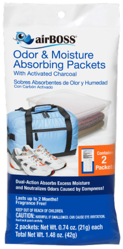 airBOSS Odor & Moisture Absorbing Packets Perspective: front