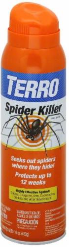 TERRO® Spider Killer Aerosol Spray Perspective: front