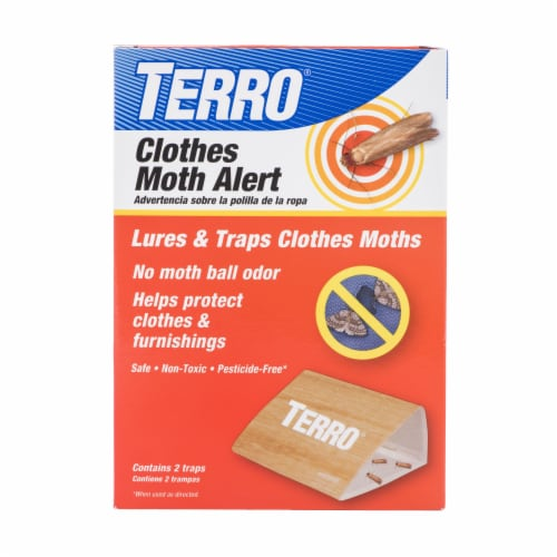 TERRO® Clothes Moth Alert Trap Perspective: front