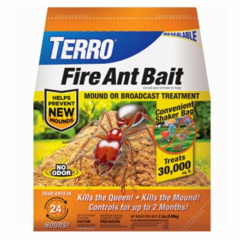 Woodstream 272831 2 lbs Terro Fire Ant Bait - Pack of 6 Perspective: front