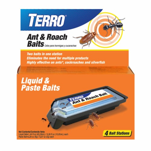 TERRO® Ant & Roach Baits Perspective: front