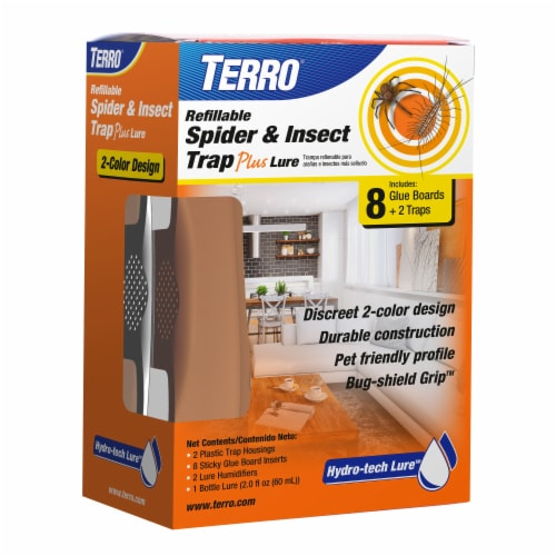 TERRO® Refillable Spider & Insect Trap Plus Lure Perspective: front