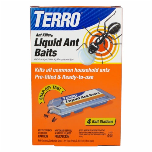TERRO® Liquid Ant Killer Baits Perspective: front