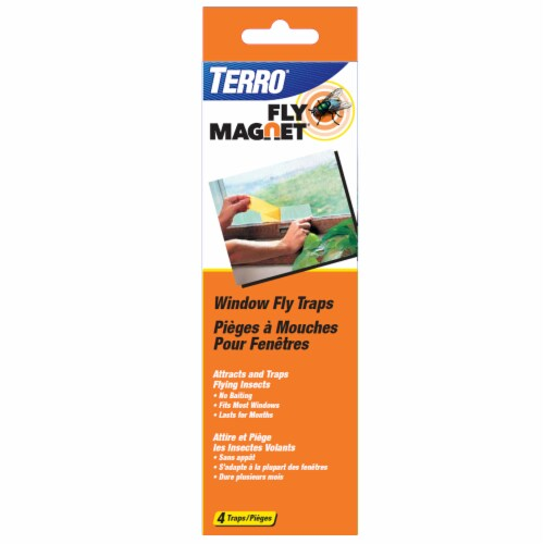 TERRO® Window Fly Traps Perspective: front