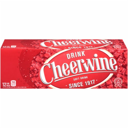Cheerwine Legend Soft Drink Perspective: front