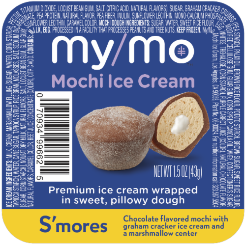 My/Mo S'mores Mochi Ice Cream Perspective: front
